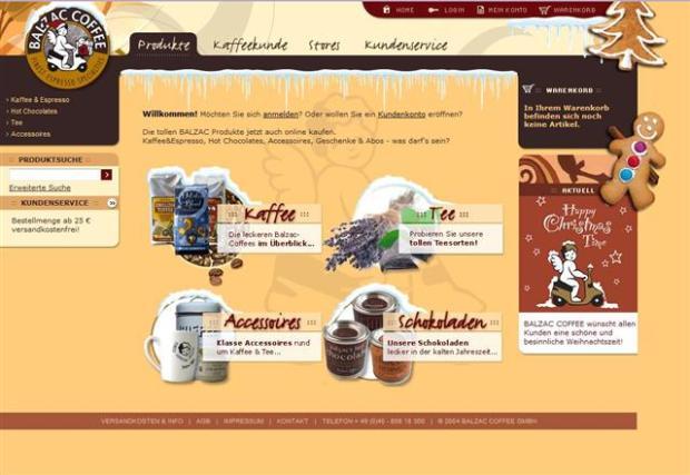 Balzac Homepage
